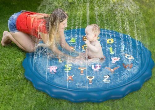 toddler splash pad review