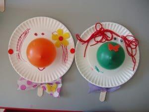Clown Plates