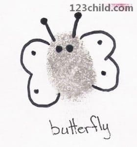 Fingerprint Butterfly
