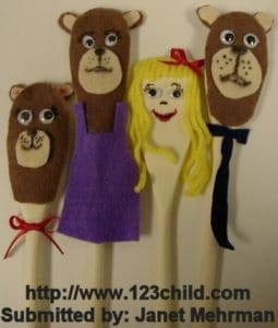 Spoon 3 Bears