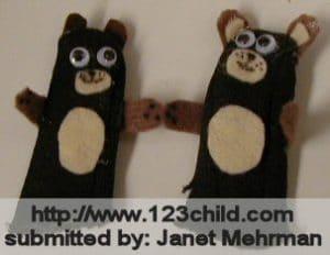 Finger Puppet Bears
