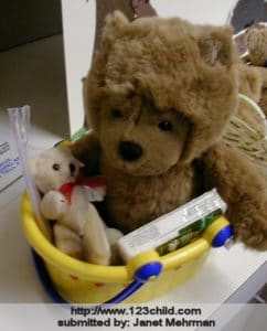 Boo Boo Bear Basket 1