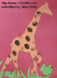 Fingerprint Giraffe