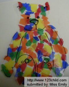 Tissue Paper Bear