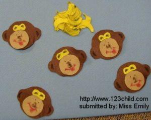Felt Monkey Board