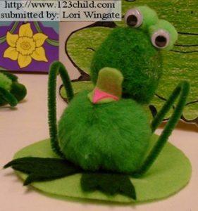 Pom  Pom Frog