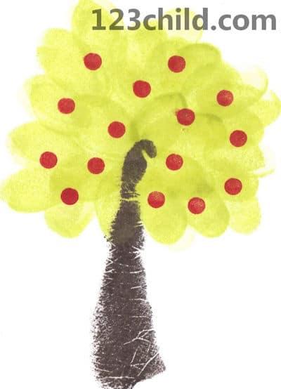 eraser apple tree